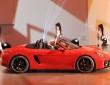 Der neue Porsche Boxster GTS auf der Pekinger Motor Show 2014
