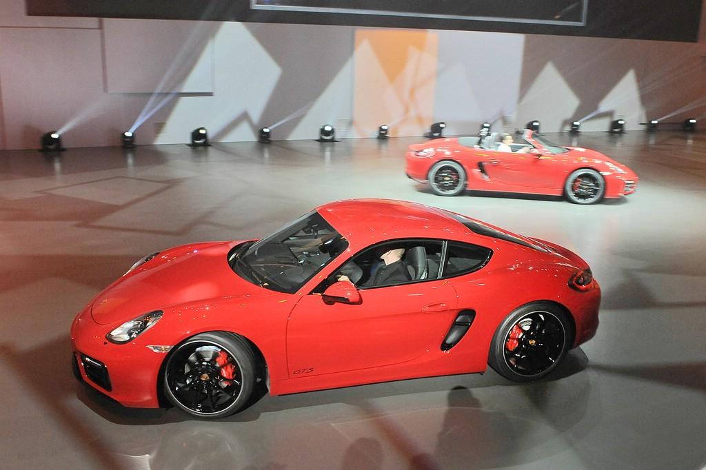 Sportwagen Porsche Cayman GTS mit über 340 PS Leistung