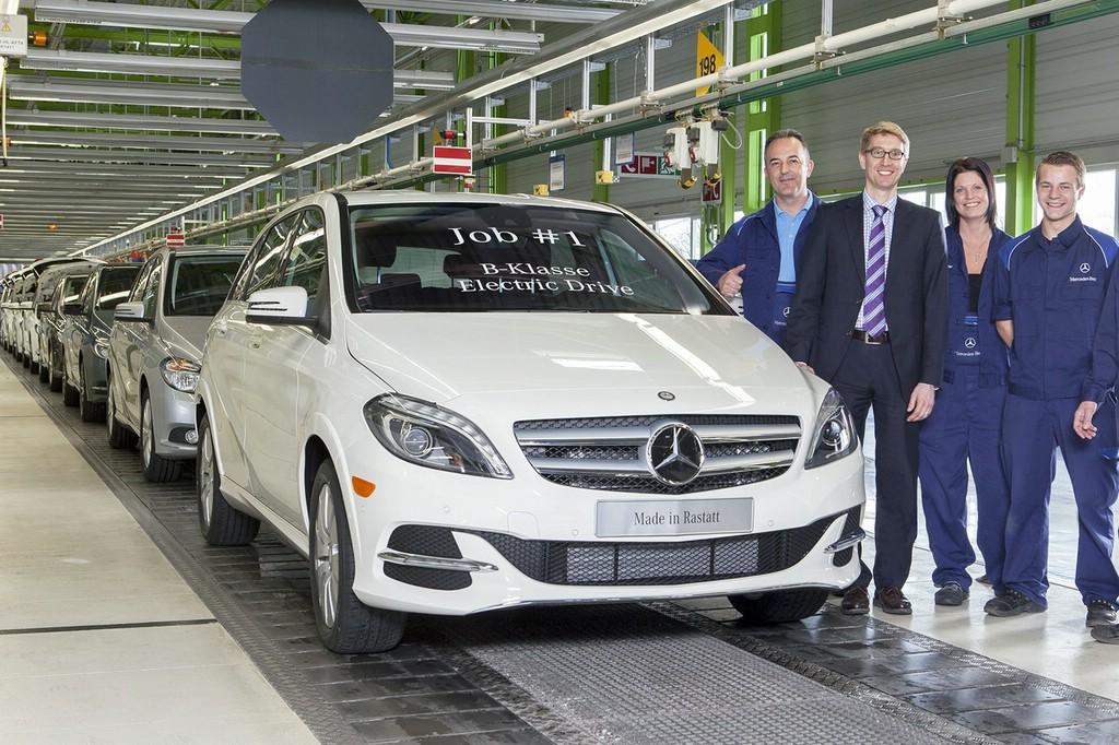 Mercedes Benz Werk Rastatt