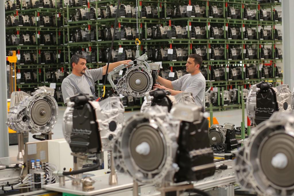 Die Daimler Produktion am Standort Sebes