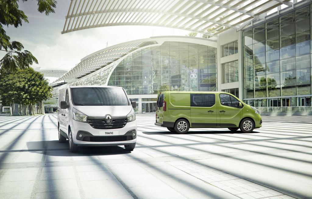 Die dritte Trafic-Generation von Renault als Kastenwagen