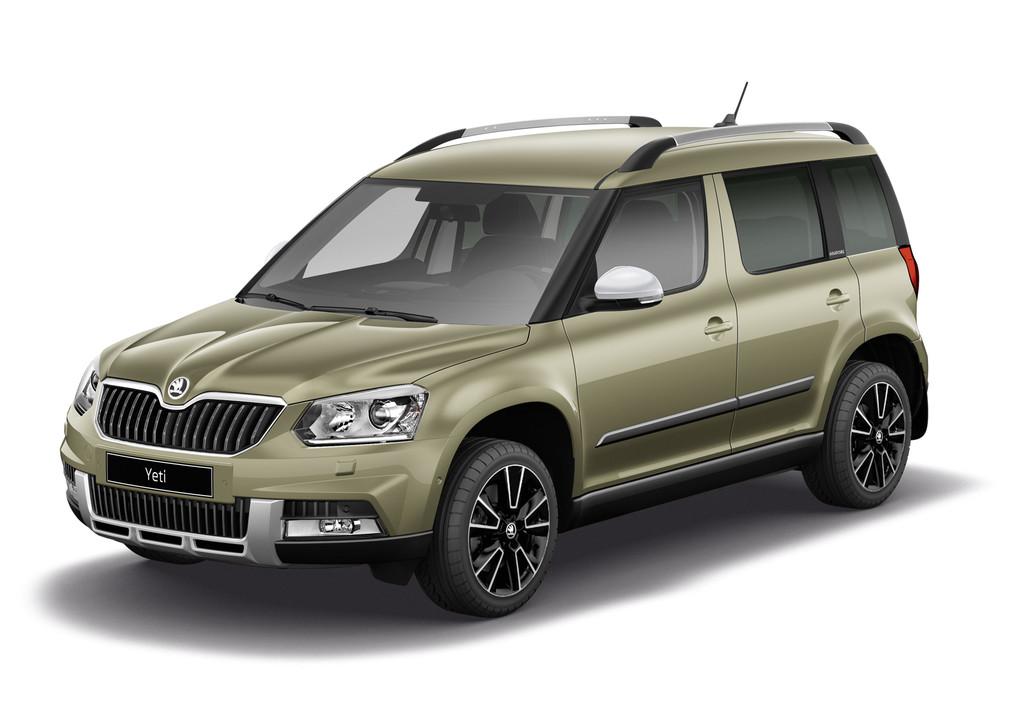 Skoda SUV Yeti als Sondermodell Adventure