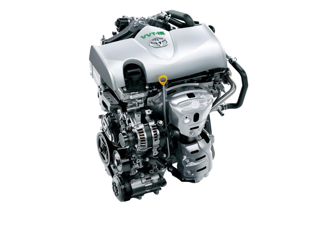 Der moderne Verbrennungsmotor von Toyota