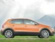 Rundum schwarze Abdeckungen für den VW CrossPolo