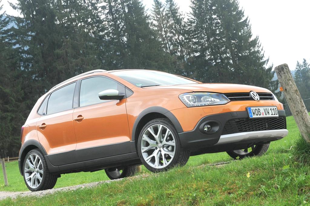Standaufnahme vom neuen (2014) VW CrossPolo