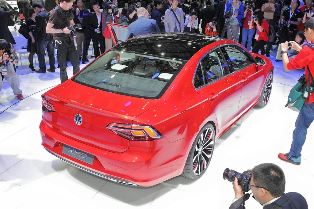 Präsentation der Studie VW New Midsize Coupé auf der Auto China 2014