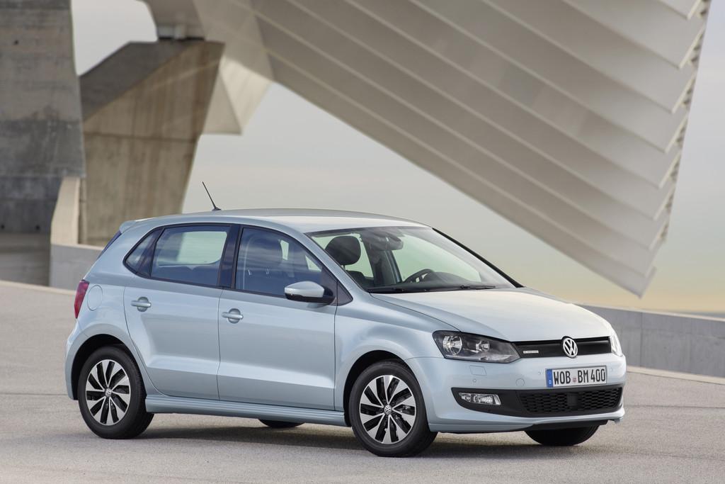 2014er Volkswagen Polo Bluemotion, Standaufnahme