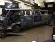 Restaurierung Stretch-Limousine auf Volkswagen T3