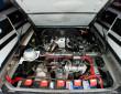Motor der Stretch-Limousine auf Volkswagen T3