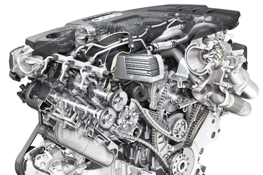 die Neue Generation (2014) des Audi-V6-TDI mit 160 kW (218 PS) und 200 kW (272 PS)