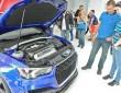 Das Herzstück des Audi A3 clubsport quatto concept mit über 500 PS