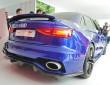 Der Audi A3 clubsport quatto concept erinnert an Rennstport