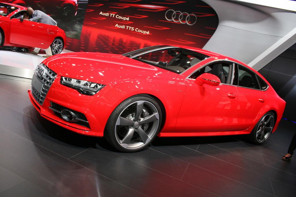 Audi S7 Sportback mit LED-Technologie serienmäßig