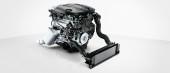 BMW Vierzylinder Dieselmotor.