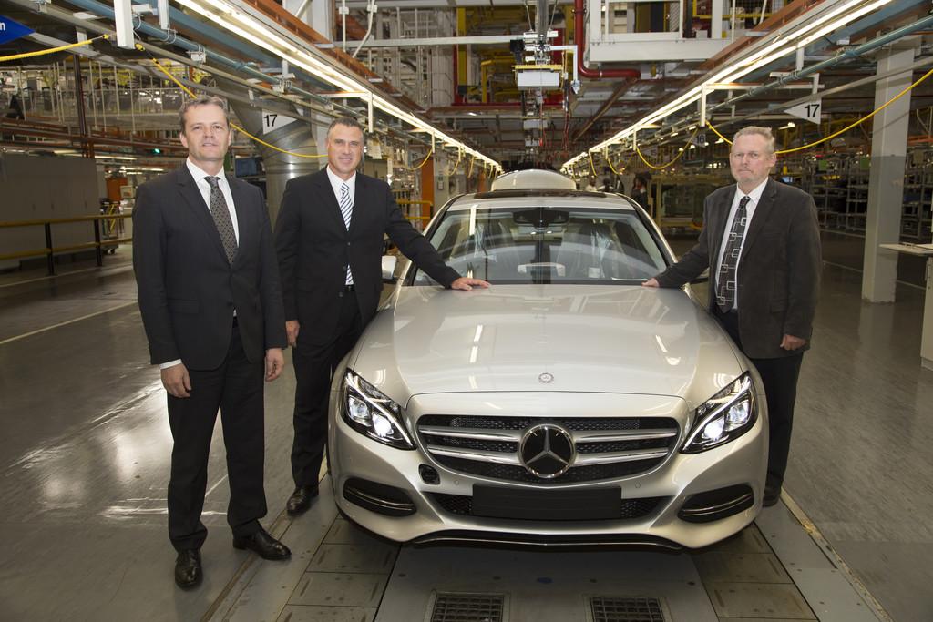 Produktionsstart der Mercedes-Benz C-Klasse im südafrikanischen Werk East London