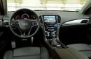 Die Mittelkonsole der Sportlimousine Cadillac ATS