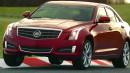Wird auf der Rennstrecke getestet: Der neue Cadillac ATS