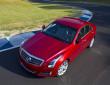 Der 276 PS starke Cadillac ATS auf der Teststrecke