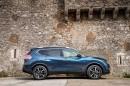Der neue (2014) Nissan X-TRail in der Seitenansicht