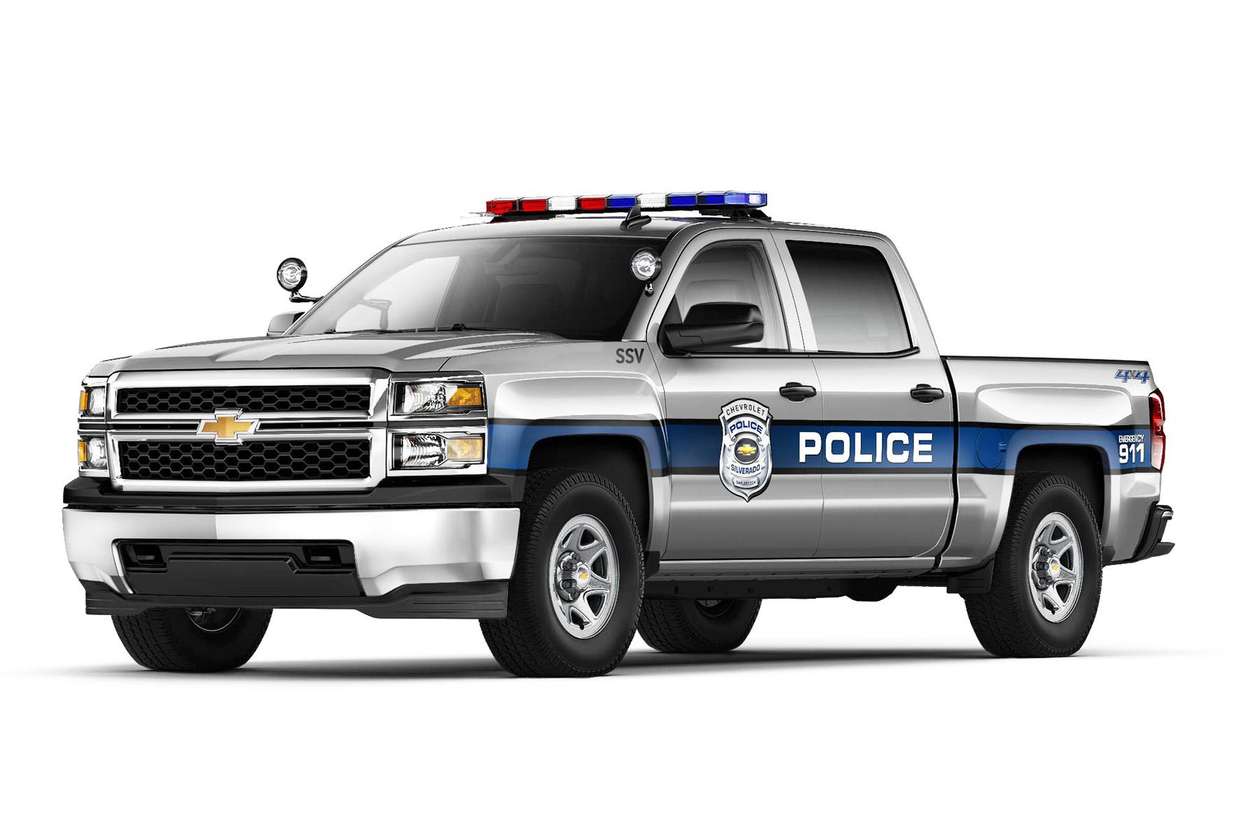 2014 Silverado 1500 als Polizei Einsatzfahrzeug vorgestellt
