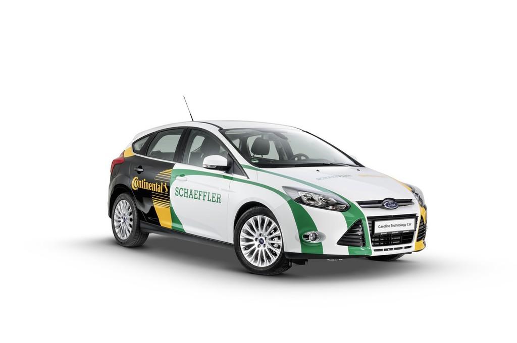 Gasoline Technology Car (GTC) der Firmen Schaeffler und Continental