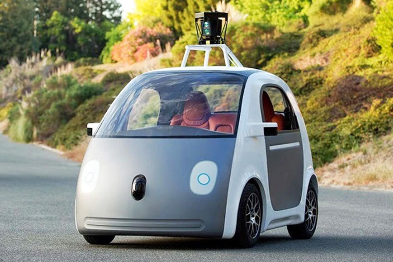 Das Google-Auto hat Elektroantrieb und kommt ohne Lenkrad aus