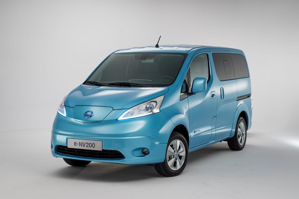 Der e-NV220 ist Nissans Elektrofahrzeug bei den Transportern