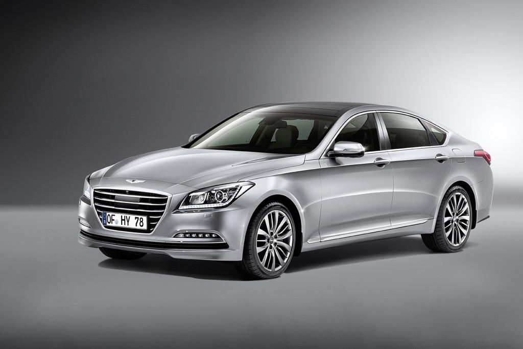 Hyundai Genesis Sportlimousine für die Oberklasse