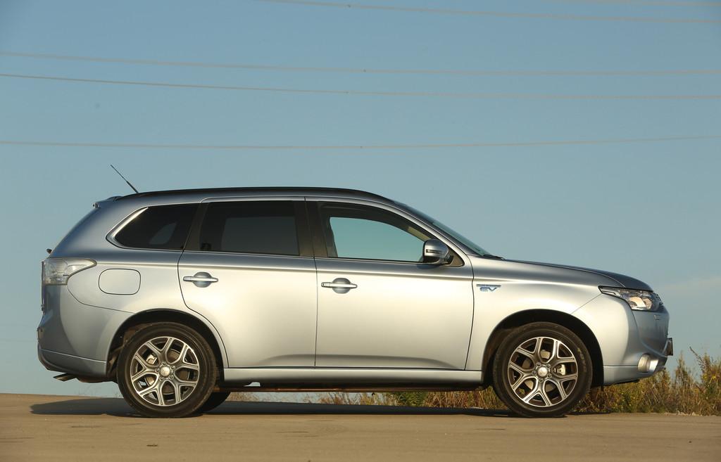 Mitsubishis Hybridmodell Plug-in Hybrid Outlander