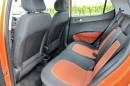 Viel Platz auch für die hinteren Passagiere des Hyundai i10