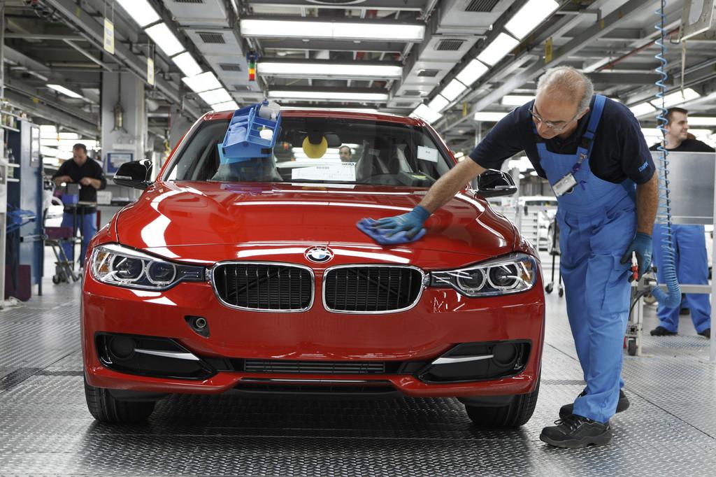 Produktion BMW 3er im BMW Werk