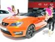 Das Showcar Ibiza Cupster in orange beim Wörthersee-Treff
