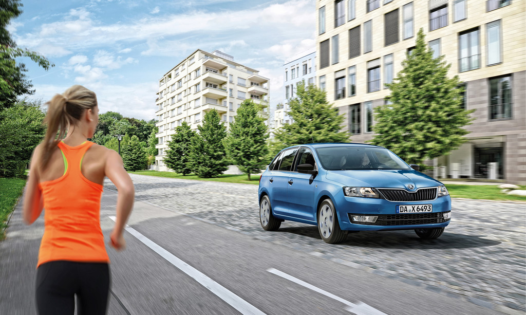 Skoda Rapid Spaceback als Sondermodell Cool Edition