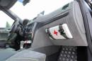 Die Mittelkonsole des Kompakt-SUV Skoda Yeti Xtreme