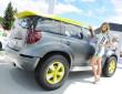 Der sportliche Kompakt-SUV Skoda Yeti Xtreme am Wörthersee