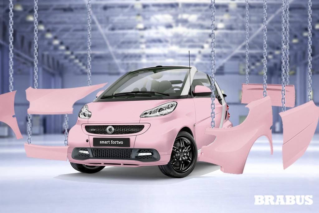 Das Design der Smart Brabus Fan-Edition soll im Internet entstehen
