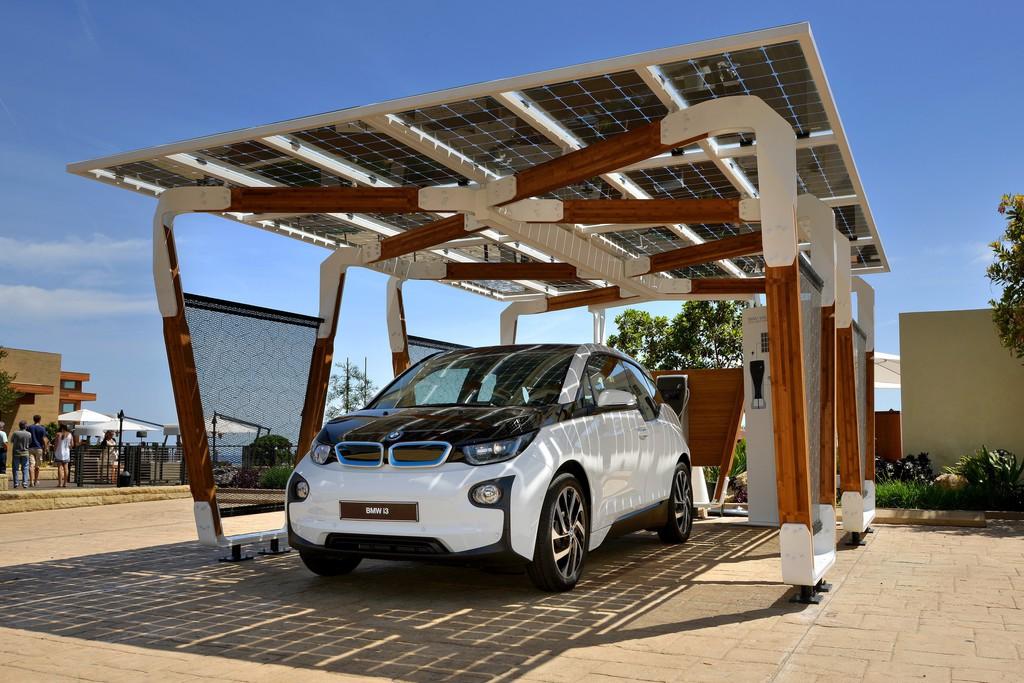 Solar-Carport für BMW i3, i8 und andere Modelle