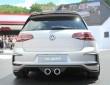 VW zeigt am Wörthersee den Sportwagen Golf R 400