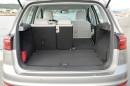 Bis zu 1520 Liter schluckt der VW Golf Sportsvan