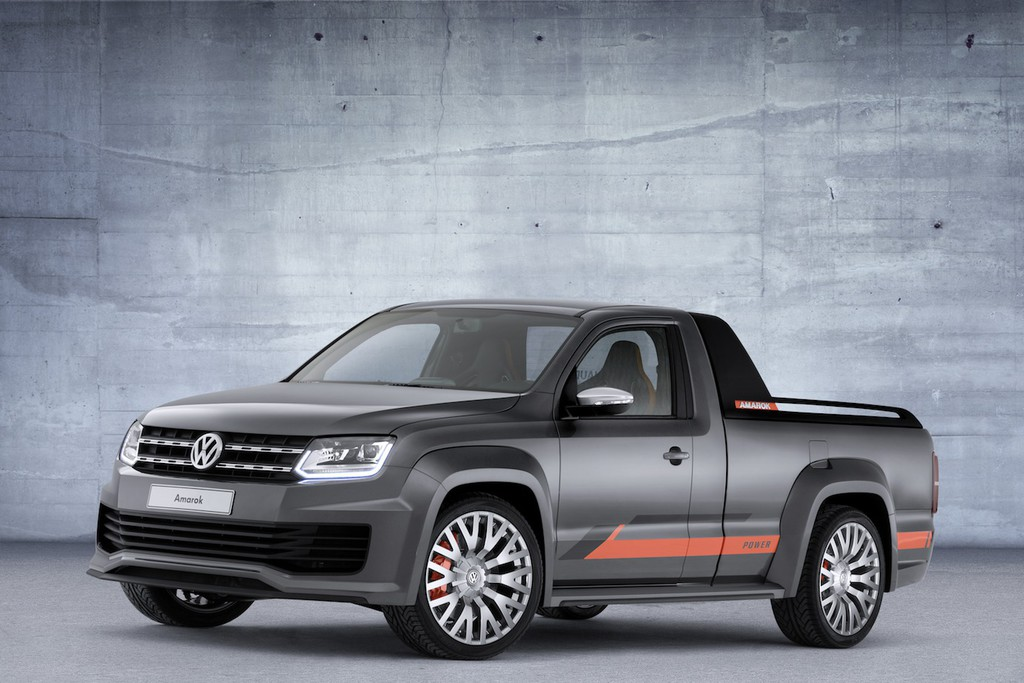 Der VW Amarok Power rollt auf 22 Zoll großen Rädern