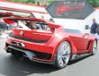 Wörthersee 2014: Showcar GTI Roadster Vision Gran Tourismo in rot