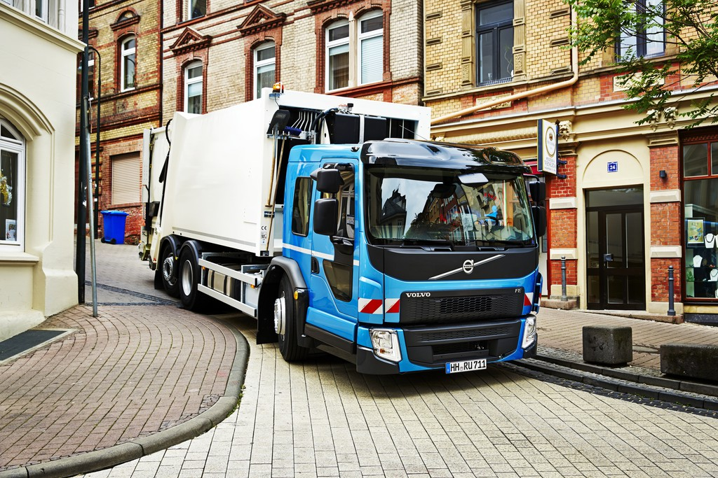 2014 Volvo FE LEC mit Low Entry Cab