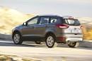 2013 Ford Kuga in der Heck- Seitenansicht