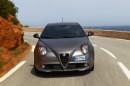 Die Frontschürze des Alfa Romeo Mito Quadrifoglia Verde
