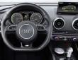 Das Cockpit des Hybridautos Audi A3 Sportback e-tron