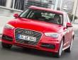 Fahraufnahme vom Hybridauto Audi A3 Sportback e-tron