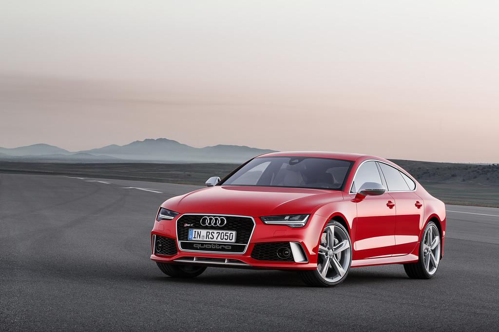 Audi RS7 Sportback Facelift-Modell mit LED-Scheinwerfer