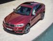 Exterieur Fotoaufnahme von einem BMW X6 M50d in rot