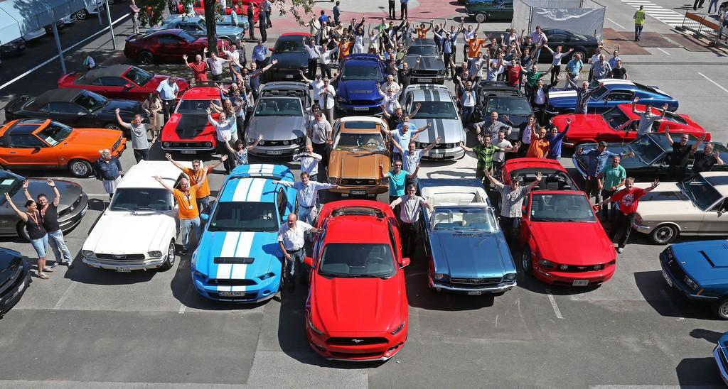 Die 33ste European Mustang Convention im Jahre 2014
