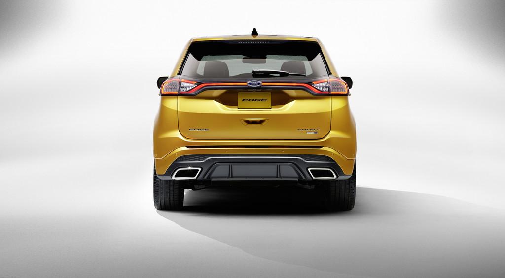 Ford Edge in der Ausstattungsvariante Sport in der Heckansicht